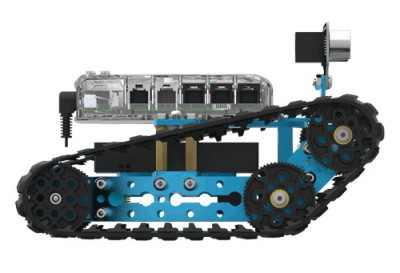 Off-road robot tank