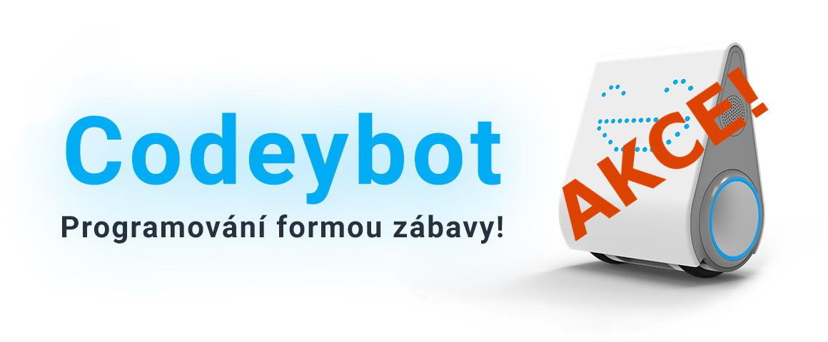 Programovatelný robot Codeybot!