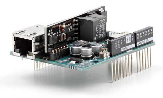 Arduino Ethernet Shield 2 s PoE