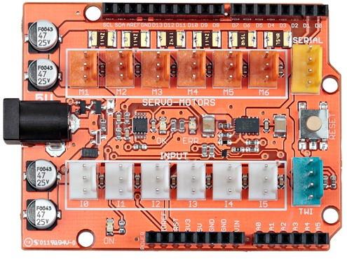 Arduino Tinkerkit Braccio robotická ruka - Shield