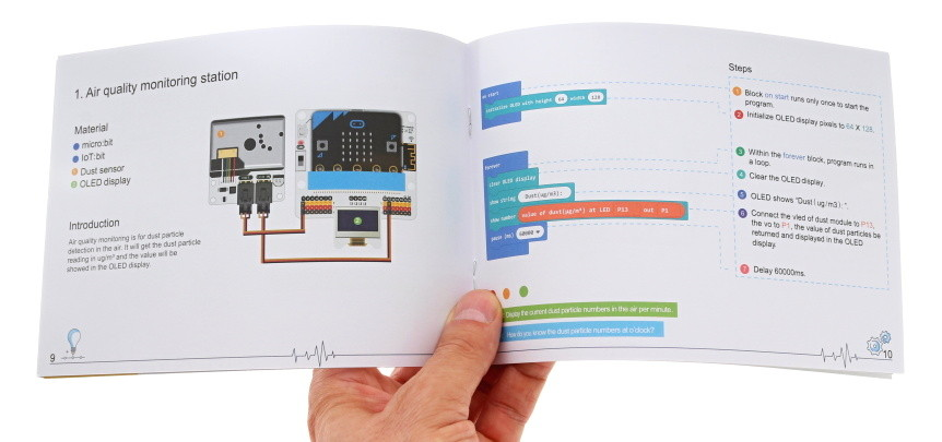 BBC Micro:bit Kit pro Internet věcí IoT návod