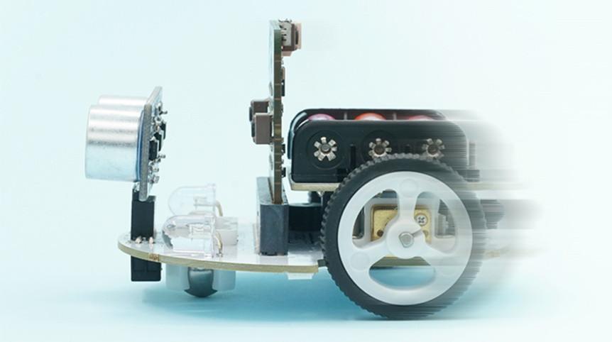 cutebot-microbit-chytre-auto-rychlost