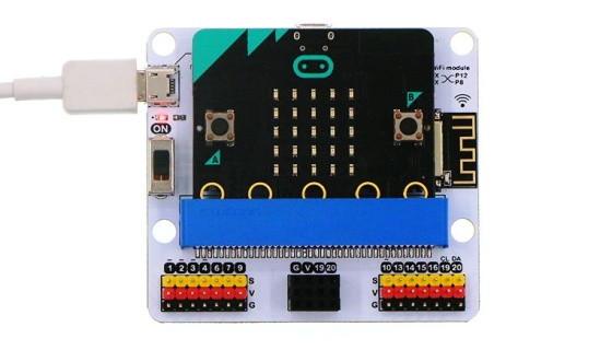 IoT:bit pro micro:bit - modul pro Internet věcí IoT - napájení z USB