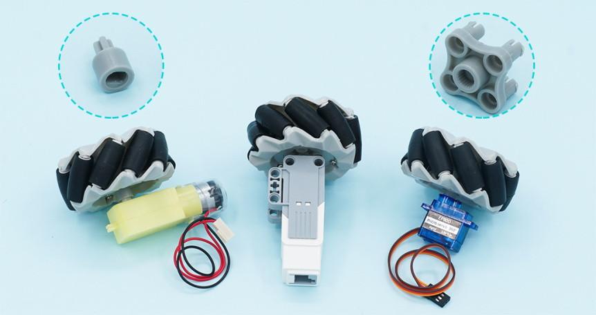 mecanum-vsesmerove-kolo-64mm-sada-4ks-adaptery-tt-motor-servo-sg90