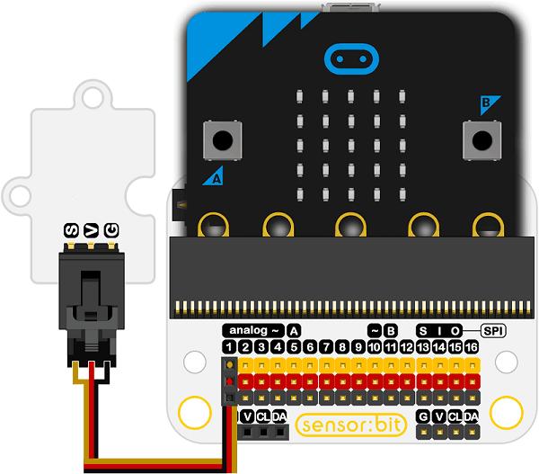 Neopixel RGB LED pásek -10 LED, GVS konektor zapojení