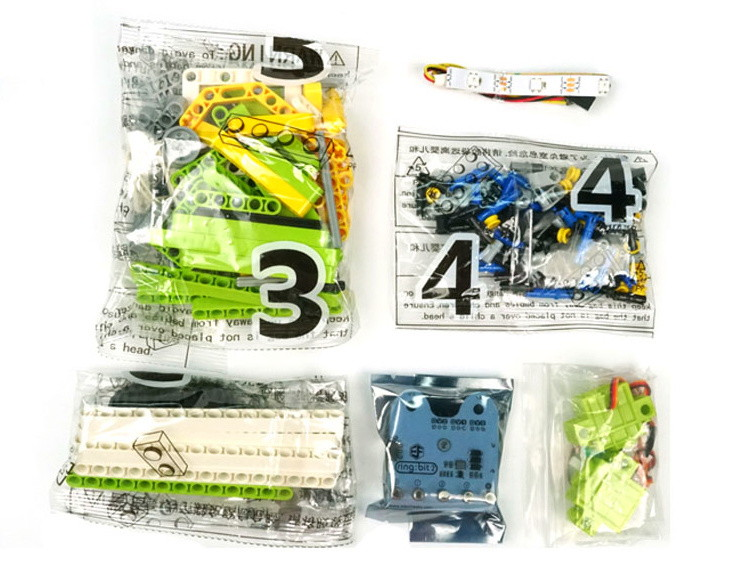 Ring:bit sada kostek kompatibilních s LEGO® balení