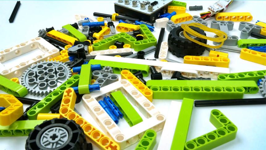 Ring:bit sada kostek kompatibilních s LEGO® tvoření