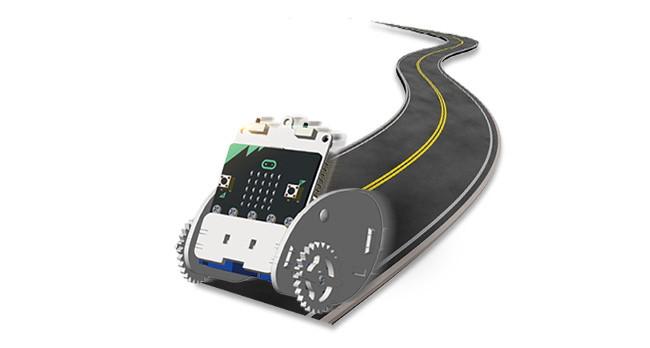 Ring:bit - Micro:bit výukový robot pro děti - vozítko