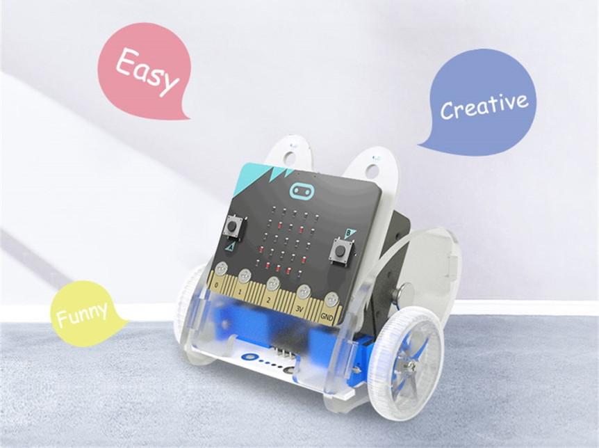 Ring:bit V2 - Micro:bit výukový robot pro děti