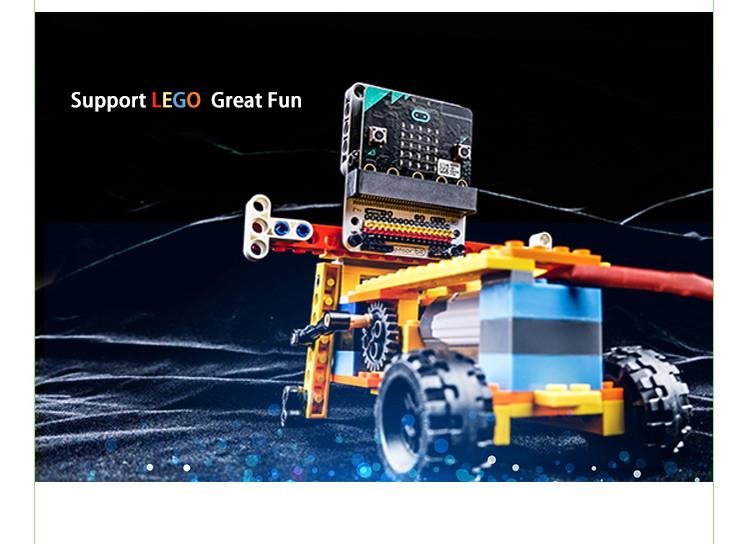 Senzor:bit pro micro:bit - univerzální rozšiřující modul - LEGO