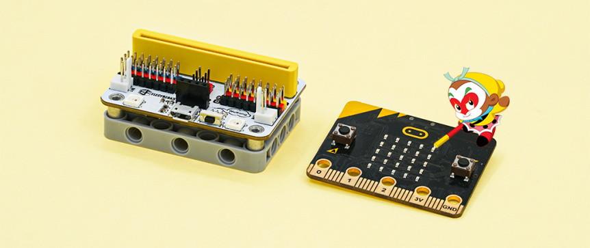 Wukong - rozšiřující modul pro LEGO micro:bit robota