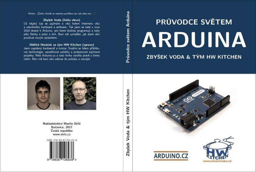 Průvodce světem Arduina - obálka