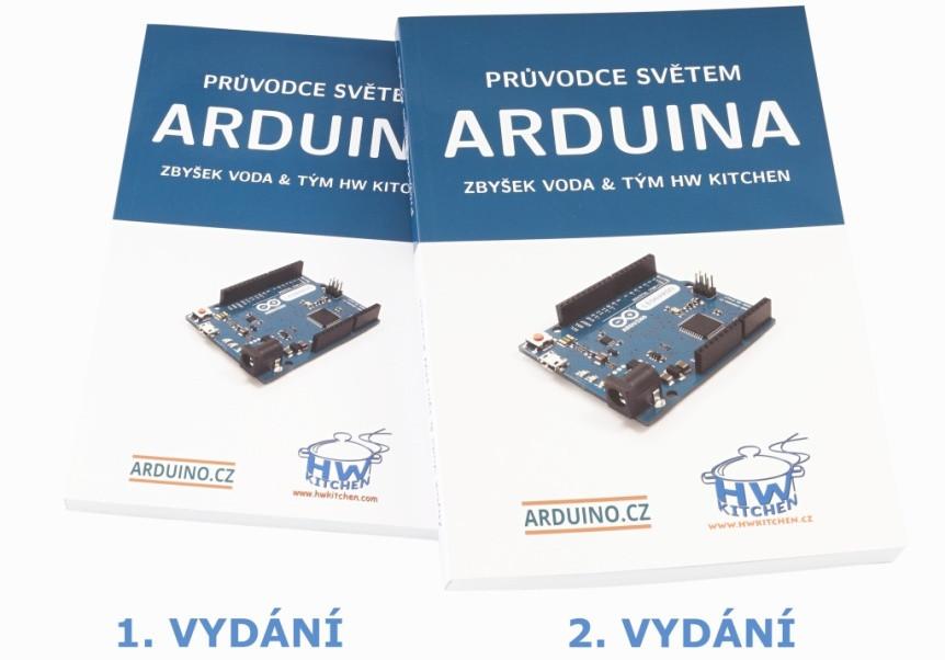 Průvodce světem Arduina 2. vydání - porovnání s 1. vydáním