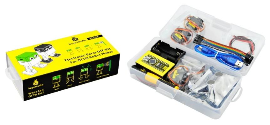 Starter Kit pro robota Otto DIY (bez těla z 3D tisku) - balení