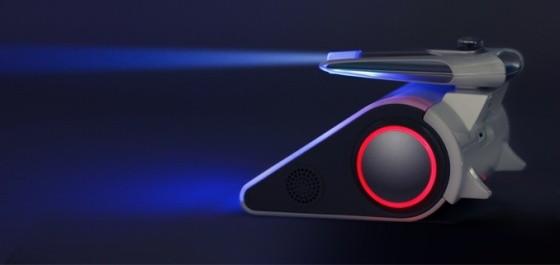 Codeybot - programovatelný robot - laser