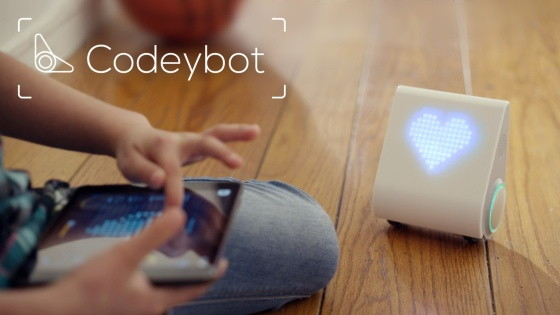 Codeybot - programovatelný robot - pohyb