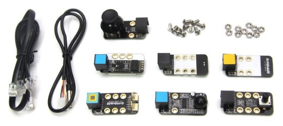 Electronic Add-on Pack pro Starter Robot Kit