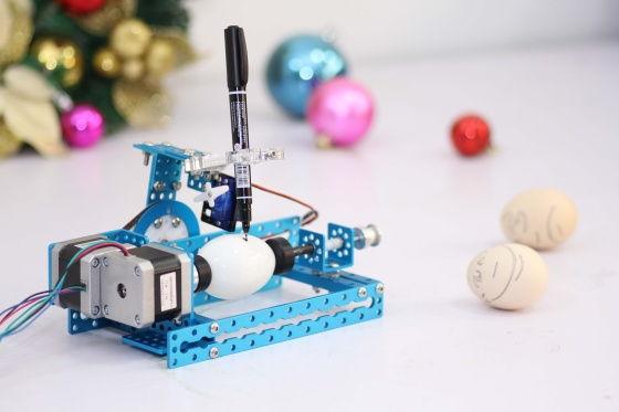 Stavebnice kreslícího robota - mDrawbot - mEggBot