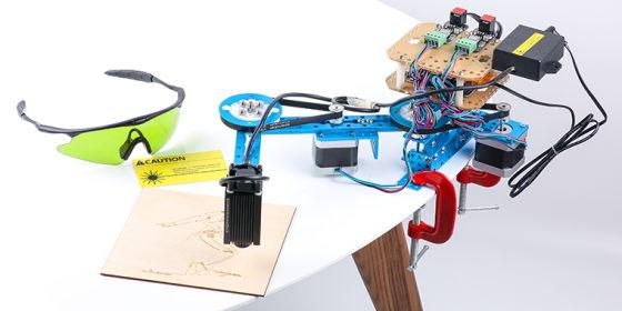 Stavebnice kreslícího robota - mDrawbot - mScara