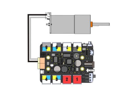 PH2.0-2P kabel s volným koncem (pár) zapojení