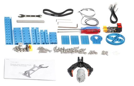 Robotická ruka pro Starter Robot Kit - součásti