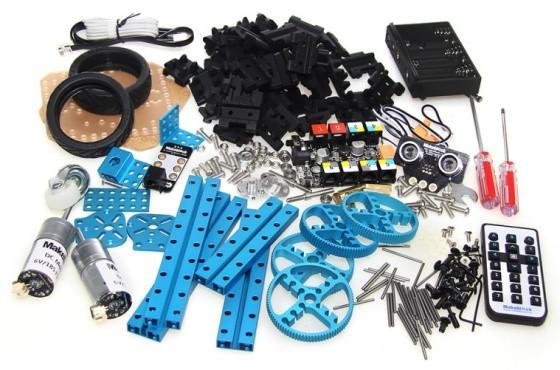 Starter Robot Kit - součásti
