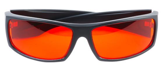 ochranné brýle pro super výkonný vypalovací modrý laser 1600 mW