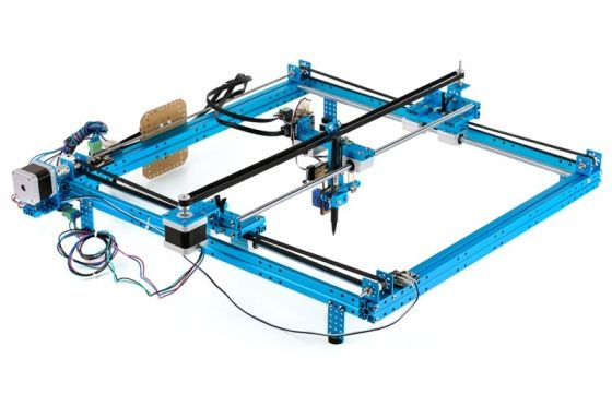 XY Plotter Robot Kit s elektronikou